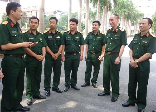 Chế độ nghỉ phép hằng năm cho sĩ quan tại ngũ