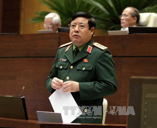 Sửa đổi Luật Sỹ quan Quân đội nhân dân Việt Nam
