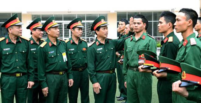 Tuổi phục vụ tại ngũ của sĩ quan theo Luật sĩ quan QĐND Việt Nam sửa đổi 2008