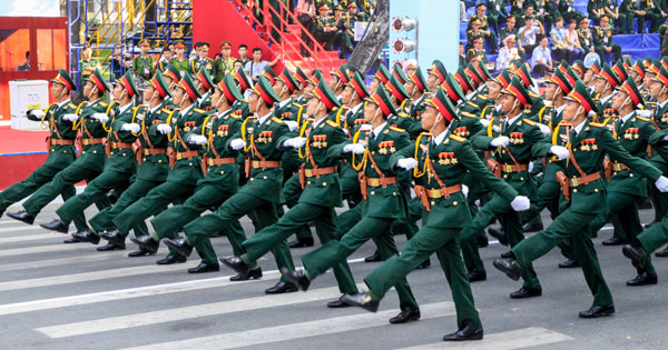 Chức vụ của sĩ quan theo Luật sĩ quan QĐND Việt Nam sửa đổi 2014