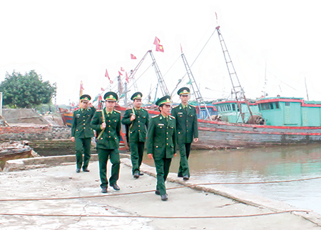 Bổ sung người có thẩm quyền xử phạt HC trên vùng biển của Bộ Biên phòng