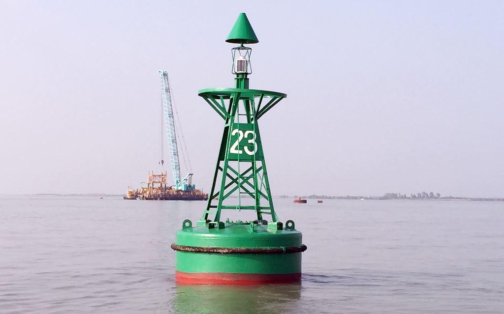 Mức hao phí vật liệu, thời gian bảo trì báo hiệu hàng hải