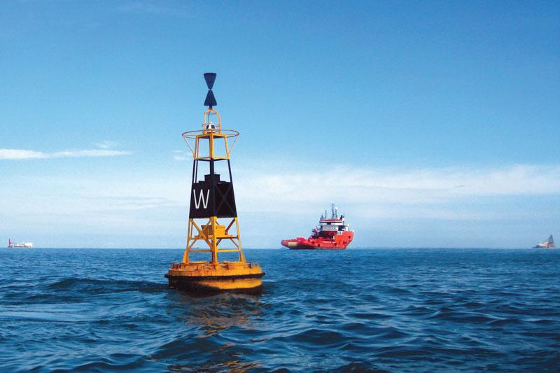 Định mức số lần kiểm tra tổng quan, bảo trì báo hiệu của từng luồng hàng hải