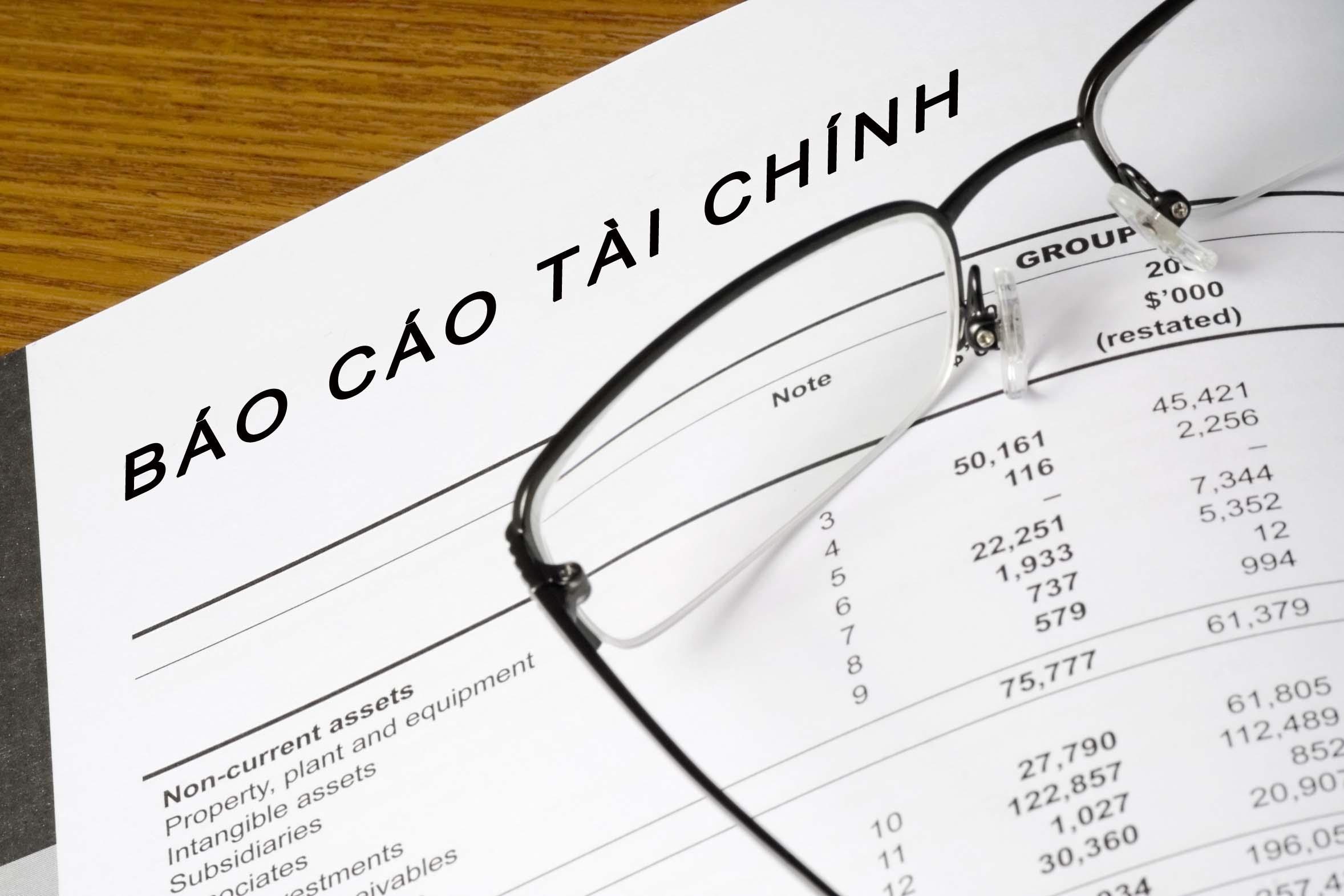 Quy định về báo cáo tài chính đối với DN kinh doanh xổ số
