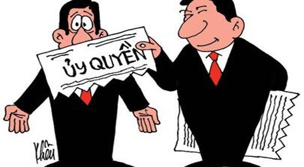 Ủy quyền của các thành viên quản lý tiền mặt, giấy tờ có giá, tài sản quý