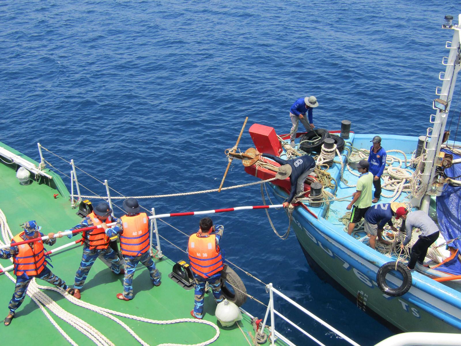 Hệ thống tổ chức ứng phó sự cố, thiên tai và tìm kiếm cứu nạn
