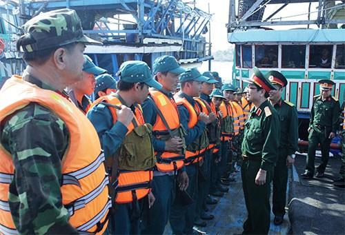 Tăng cường phối hợp giữa dân quân tự vệ với các lực lượng theo Nghị định 133 của Chính phủ