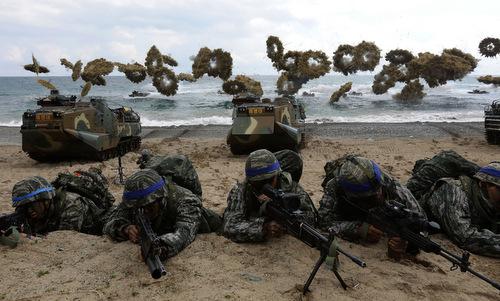 Mỹ, Hàn hủy tập trận chung quy mô lớn sau thượng đỉnh Trump - Kim