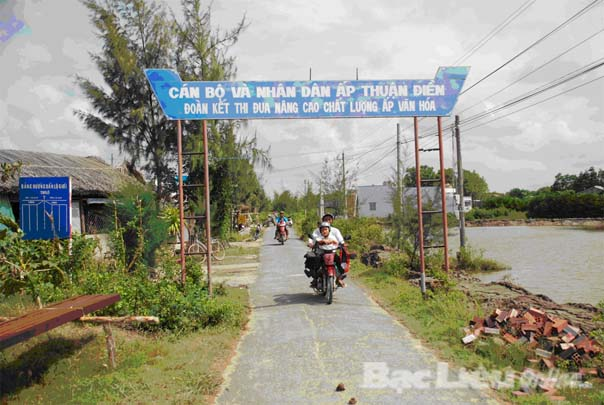 Thành lập xã Định Thành A thuộc huyện Đông Hải, tỉnh Bạc Liêu