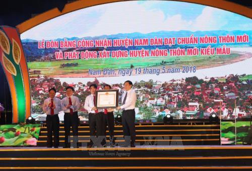 Huyện đạt chuẩn nông thôn mới phải có 60% trường THPT đạt chuẩn QG