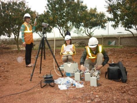 GCN hoạt động dịch vụ quan trắc môi trường có hiệu lực 36 tháng
