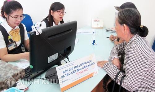 Công khai danh mục điểm chi trả BHXH của 63 tỉnh thành trên cả nước