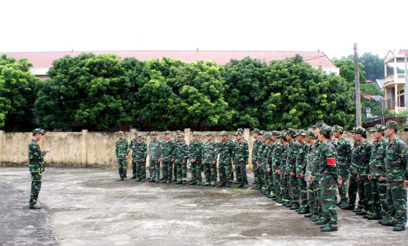 Hướng dẫn mới về việc đăng ký, quản lý quân nhân dự bị tại địa phương