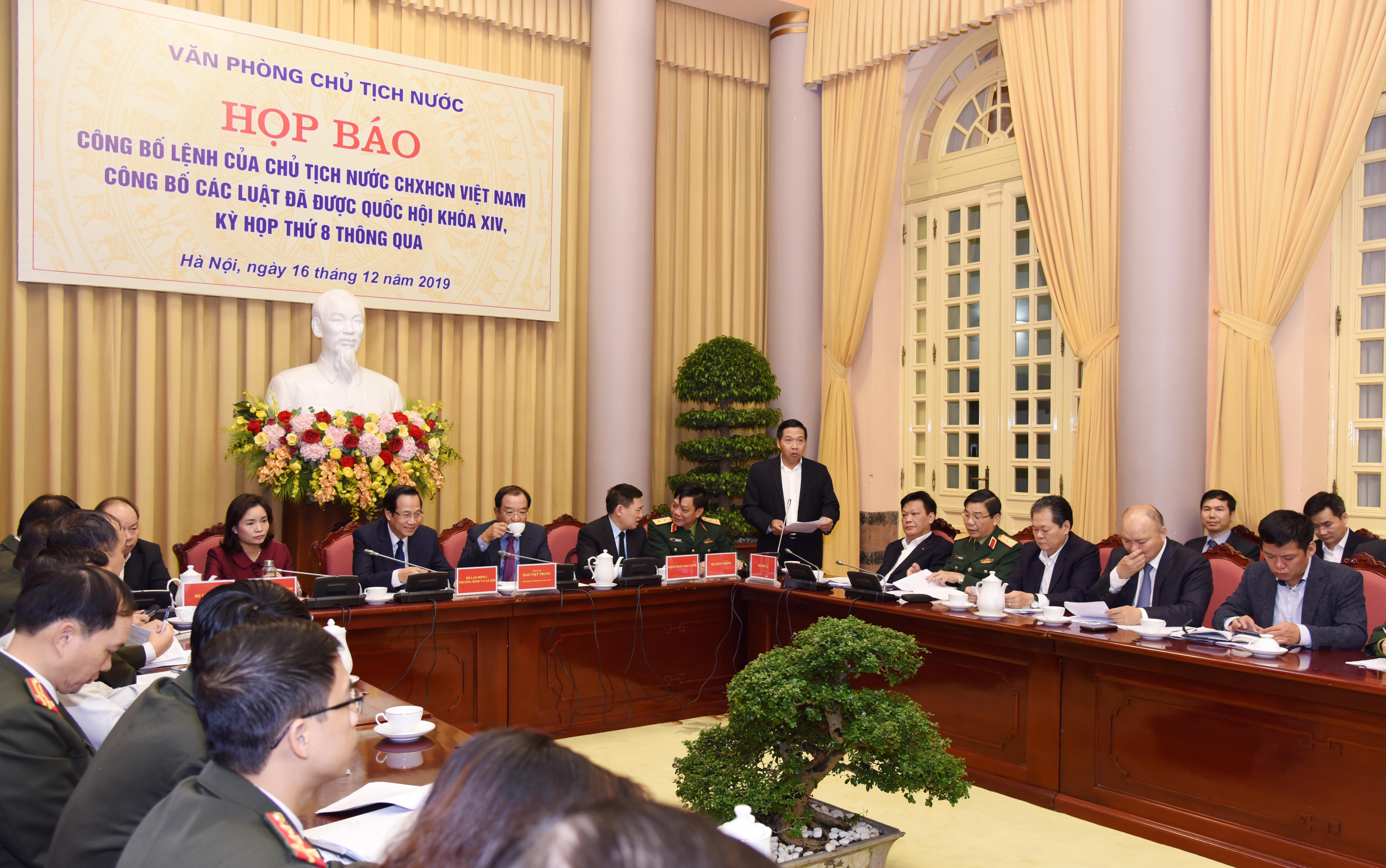 Công bố Lệnh của Chủ tịch nước đối với Luật sửa đổi, bổ sung một số điều của Luật Kiểm toán Nhà nước