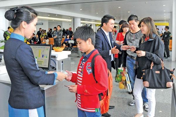 Ban hành mới mức giá dịch vụ phục vụ hành khách tại cảng hàng không