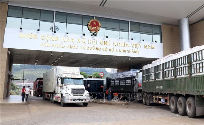 Thủ tục hải quan đối với hàng hóa xuất nhập khẩu tham gia hoạt động thương mại biên giới