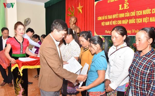 Điều kiện nhập quốc tịch Việt Nam