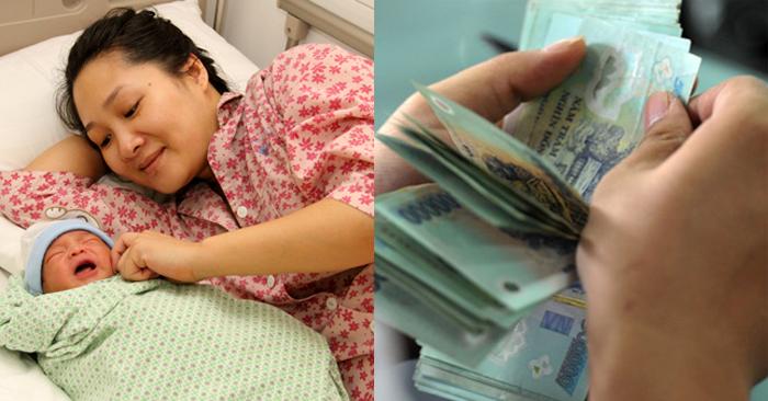 Tin vui: Các khoản tiền thai sản tăng mạnh từ 01/7/2020