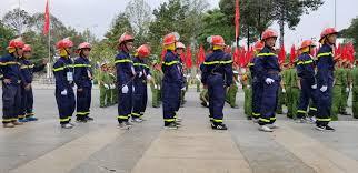 Quần áo chữa cháy của các lực lượng chữa cháy được quy định như thế nào?