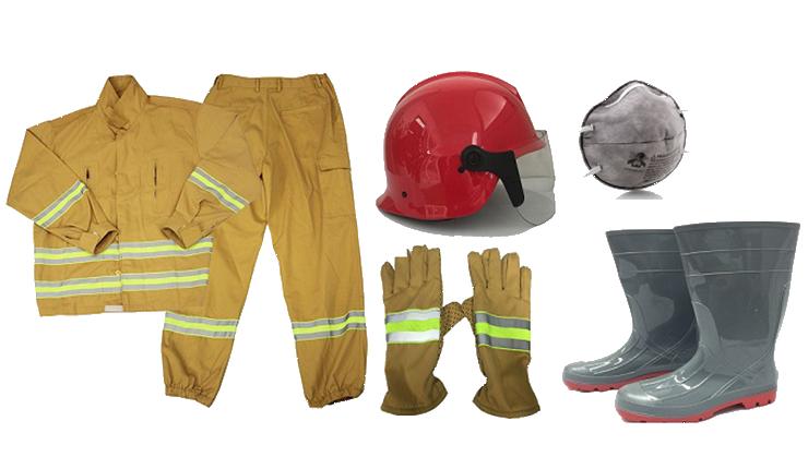 Trang phục chữa cháy sản xuất trong nước hoặc NK bắt buộc phải kiểm định