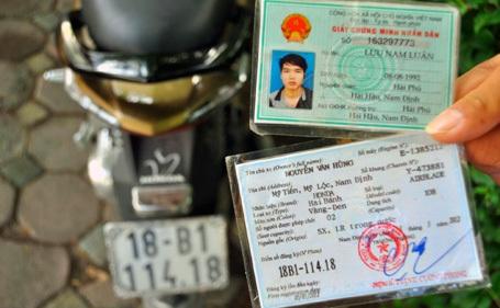 Hướng dẫn giải quyết một số trường hợp cụ thể khi đăng ký, cấp biển số xe