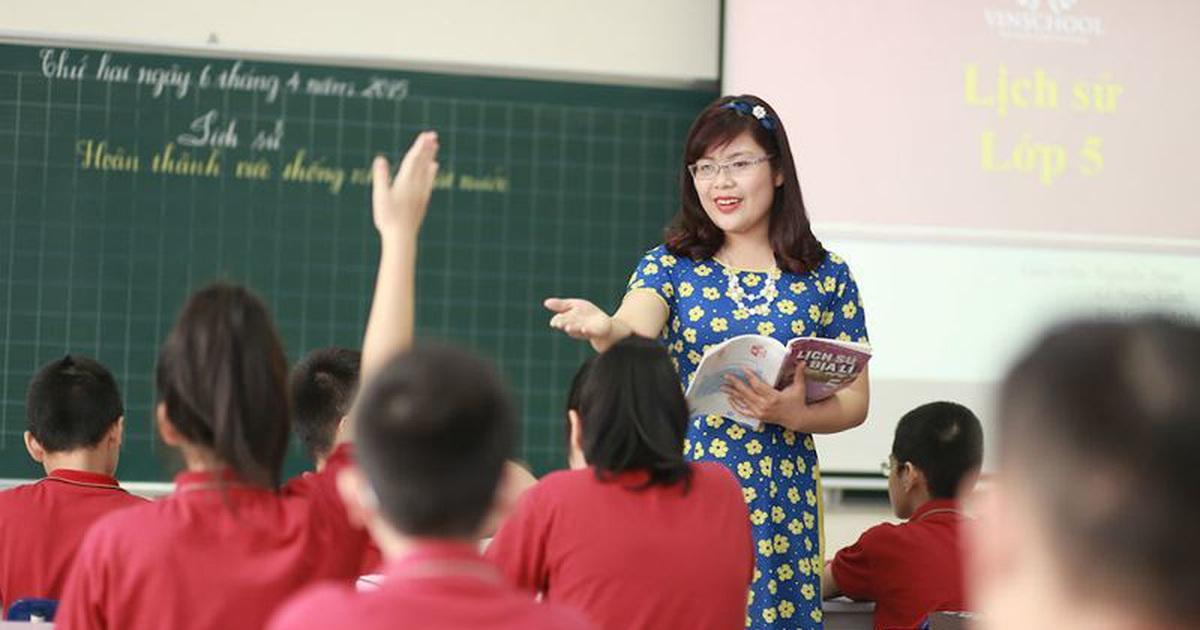 Lương của giáo viên mới ra trường năm 2021 là bao nhiêu?