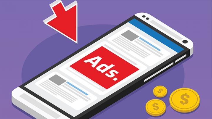 Chèn quảng cáo vào nội dung bài, báo điện tử có thể bị phạt đến 15 triệu đồng