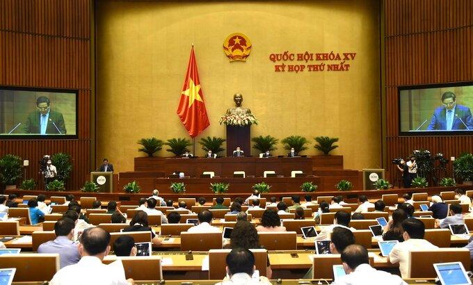 Bế mạc sớm kỳ họp thứ nhất Quốc hội khóa XV