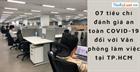07 tiêu chí đánh giá an toàn COVID-19 đối với Văn phòng làm việc tại TP.HCM
