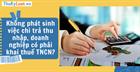 Không phát sinh việc chi trả thu nhập, doanh nghiệp có phải khai thuế TNCN?
