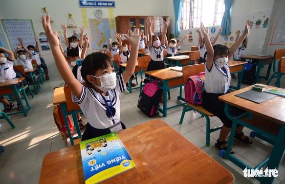 TP.HCM ban hành bộ tiêu chí an toàn phòng COVID-19 trong trường học