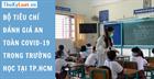 Bộ tiêu chí đánh giá an toàn Covid-19 trong trường học tại TP.HCM