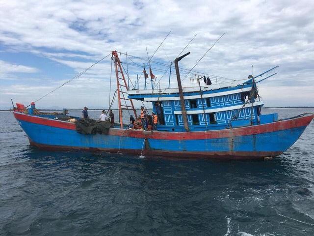 Tàu giã cào chủ yếu của ngư dân ngoại tỉnh