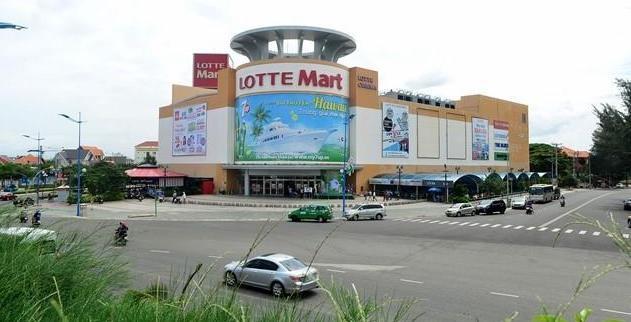 Trung tâm Thương mại Lotte tại góc đường 3/2 – Thi Sách, Phường 8, TP. Vũng Tàu.