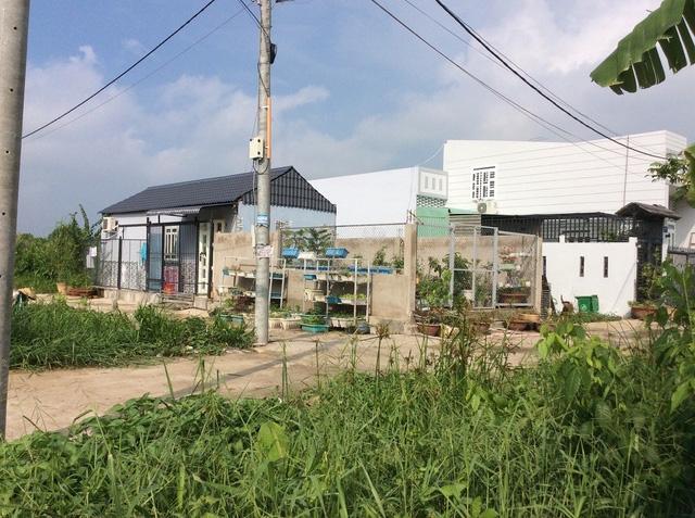 Một khu dân cư tự phát thuộc An Hòa, quận Bình Thủy, TP Cần Thơ