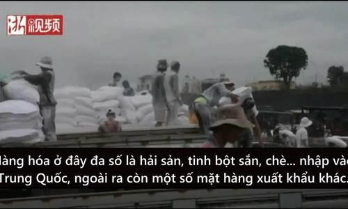 Lao động Việt sang biên giới Trung Quốc tìm việc