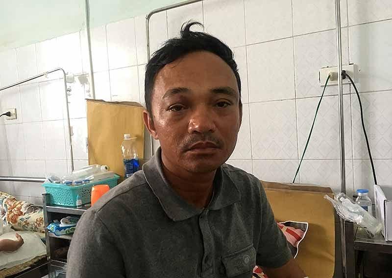 Giang hồ tấn công nông dân ở thôn Đồng Tâm, đòi bảo kê gặt lúa - ảnh 3