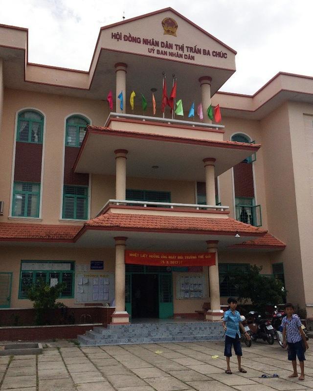 Đối với những sai phạm của 3 cán bộ này, UBND huyện Tri Tôn sẽ xem xét tiến hành kỷ luật về mặt chính quyền