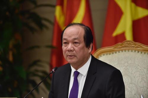 Bộ trưởng Chủ nhiệm Văn phòng Chính phủ Mai Tiến Dũng, Tổ trưởng Tổ công tác của Thủ tướng. Ảnh: Nhật Bắc/VGP
