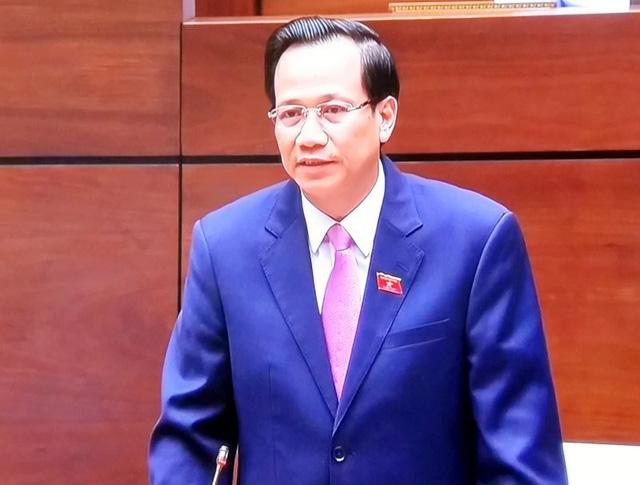 Bộ trưởng Bộ LĐ-TB&XH Đào Ngọc Dung.
