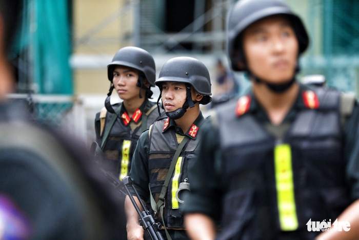 Y án sơ thẩm với nhóm khủng bố sân bay Tân Sơn Nhất - Ảnh 7.