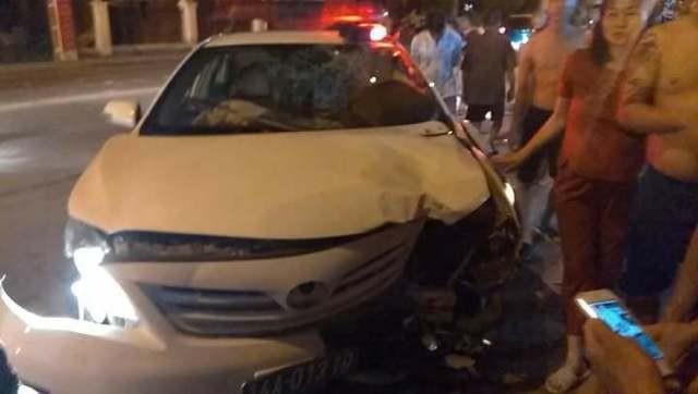 Hiện trường vụ tai nạn (Ảnh: Báo Tin tức)