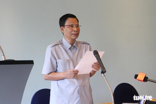 Chưa xin lỗi, ông Nguyễn Minh Mẫn vẫn làm trưởng đoàn thanh tra - Ảnh 2.