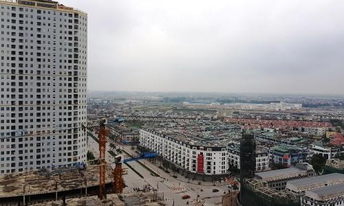 Một khu đô thị gồm nhà thấp tầng và chung cư tại Hà Nội. Ảnh: Nguyễn Hà