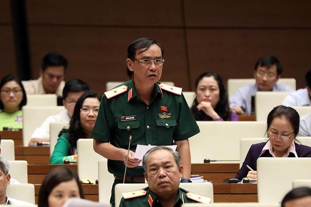 Thiếu tướng Nguyễn Minh Hoàng - Phó Chính ủy Quân khu 7 (Ảnh: Như Phúc)