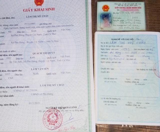UBND huyện Cái Nước cho rằng, không có cơ sở giải quyết việc cải chính của công dân Lâm Thị Mỹ Châu.