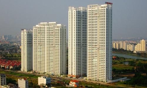 Một dự án nhà ở cao tầng tại TP HCM. Ảnh: Vũ Lê