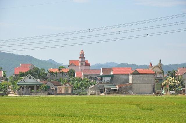 Một góc xã Mỹ Lộc hôm nay
