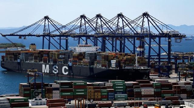 Cảng Piraeus, Hy Lạp (Ảnh: Reuters)