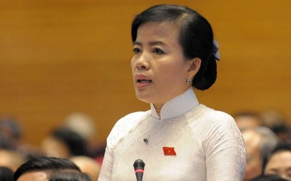 Đại biểu Nguyễn Thị Kim Thuý.